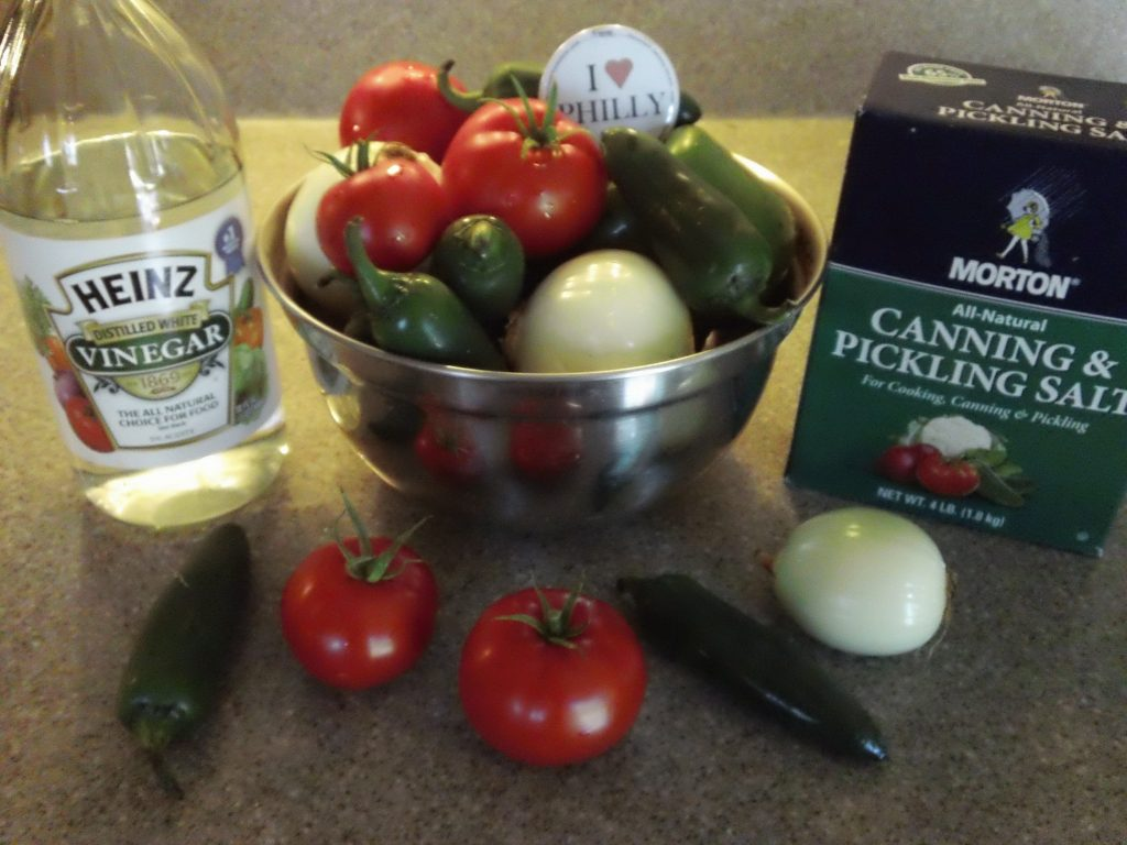 Ingredients Needs for Salsa Are Pretty Basic