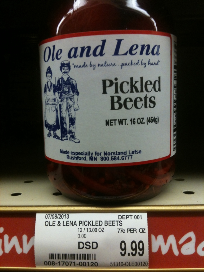 Pint of Pickled Beets - $9.99